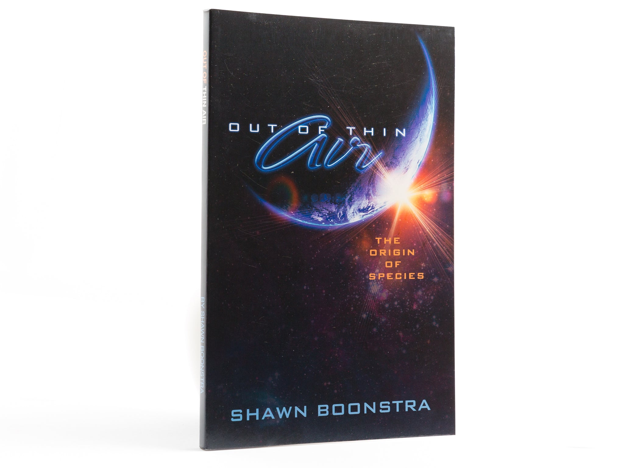 Out of Thin Air - Book by Shawn Boonstra