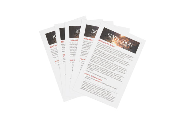 Revelation Speaks Peace Study Guides - Full Set