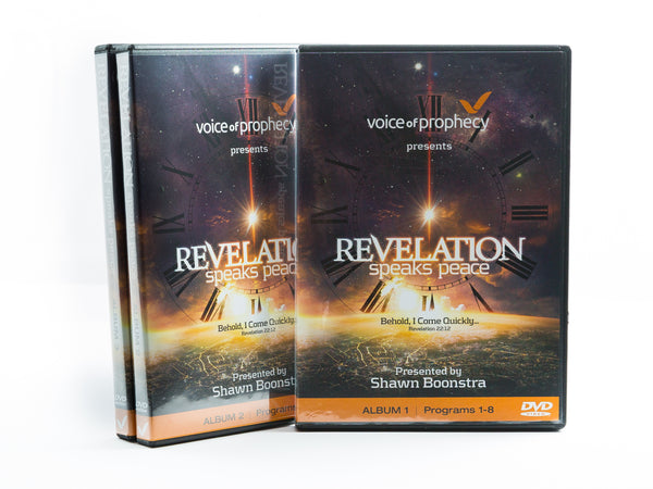 Revelation Speaks Peace - Full Series with 24 DVDs