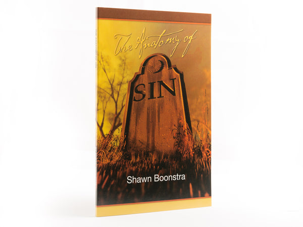 The Anatomy of Sin - Book by Shawn Boonstra