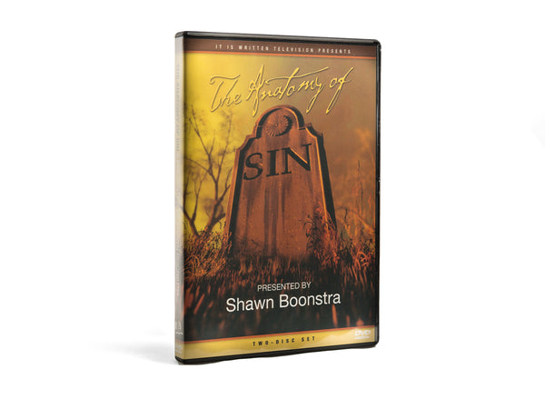 The Anatomy of Sin - DVD by Shawn Boonstra