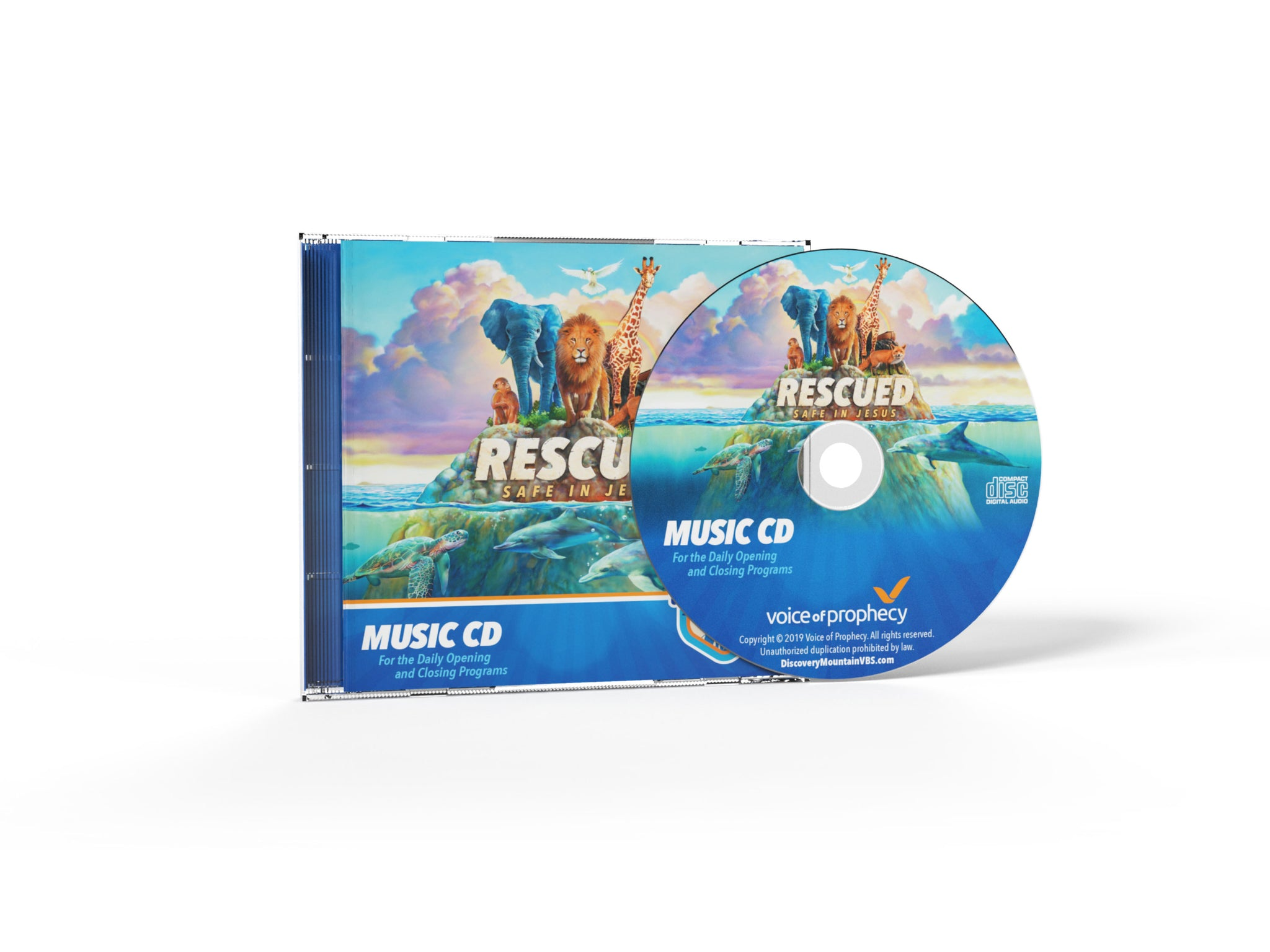 Rescued VBS Music CD