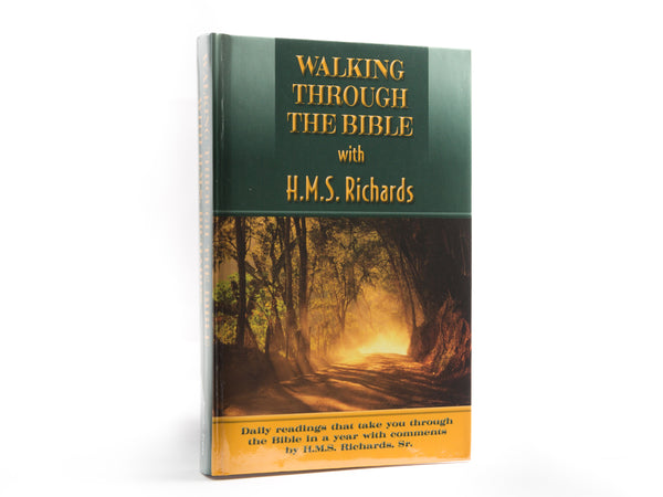 Walking Through the Bible With H. M. S. Richards - Devotional Paperback