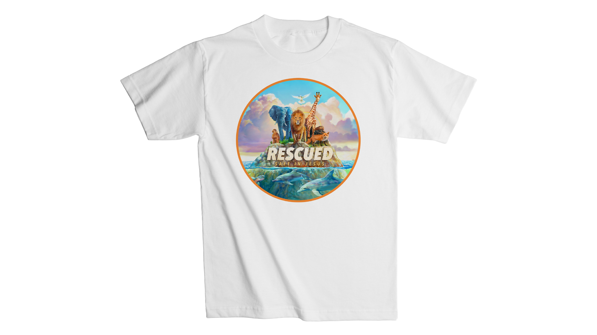 Rescued Adult T-Shirt - White