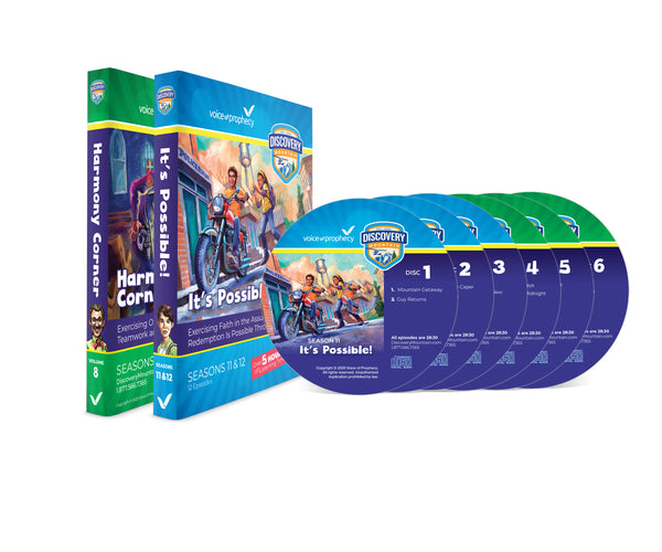 Discovery Mountain - Seasons 11 & 12 CD Set