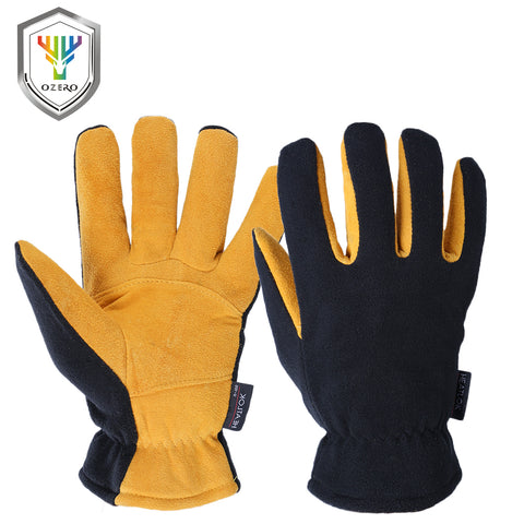Deerskin Warm Winter Gloves
