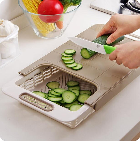 Over-sink Chopping Board Station