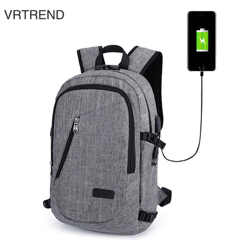 Laptop Backpack with Headphone & USB Ports Plus Anti-theft Lock