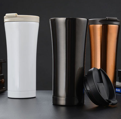 Double Wall Stainless Steel Thermos in 4 Colors