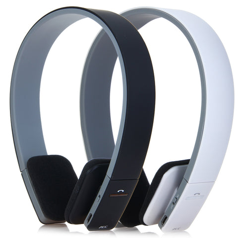AEC Smart Wireless Bluetooth Noise-Cancelling Headphones with Mic