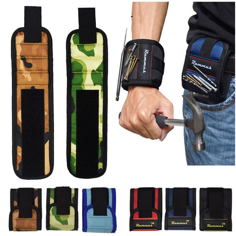 Strong Magnetic Wristband Pocket Pouch