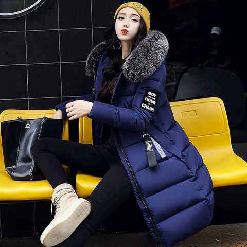 Trendy Long Fur Winter Jacket for Women
