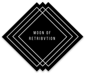 Moon Of Retribvtion Vinyl Sticker
