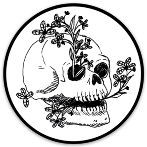 Renewal Skull Sticker