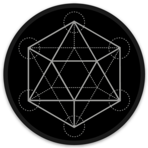 PRE-ORDER: Sacred Dodecahedron d20 Sticker