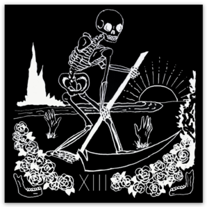 LA MORT Death Tarot Sticker
