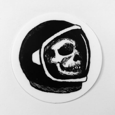 "Dead Astronaut 2"" Sticker"