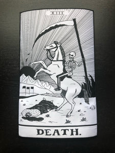 Death Card Large Back Patch