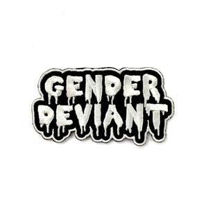 Gender Deviant Iron-On Embroidered Patch