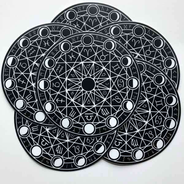Large Magic Circle Vinyl Sticker