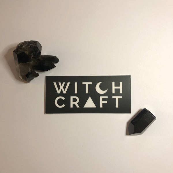 Witchcraft Vinyl Sticker