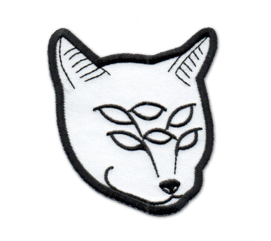 6-Eyed Cat Iron-On Embroidered Patch