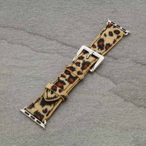 Leopard Print Apple Watch Band (Fits 38mm-40mm)