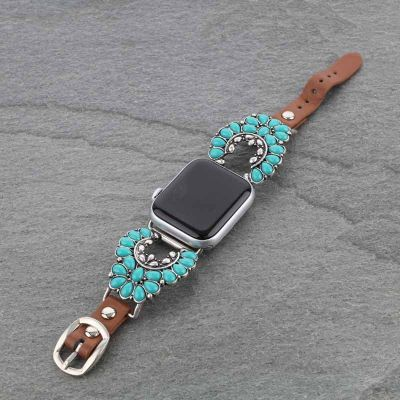 Squash Blossom Apple Watch Band (Fits 38mm-40mm)