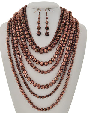 Copper Beads Galore