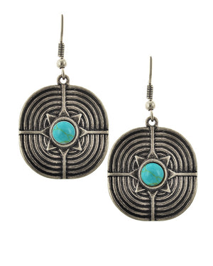 Touch of Turquoise Earrings