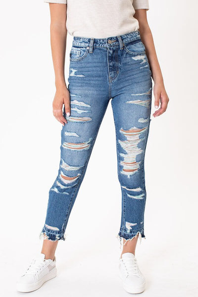 KanCan Super Distressed Jean