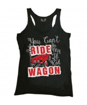 Little Red Wagon Racer Back Tank