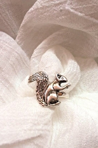 Whimsical Squirrel ring