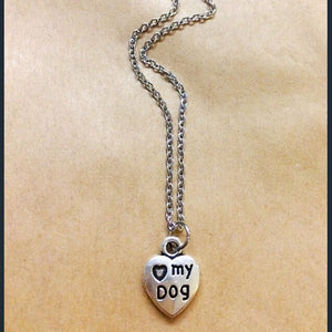 Love my Dog necklace
