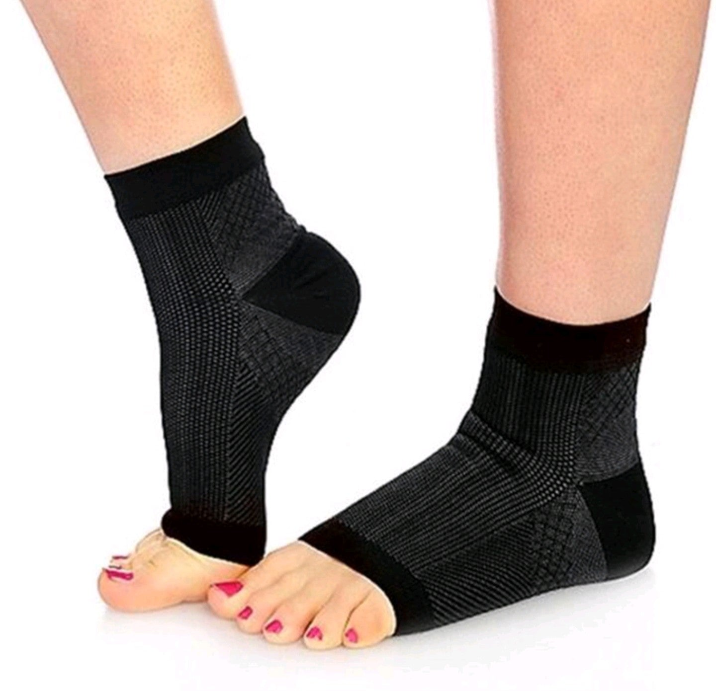 2017 New Foot Angel Women/Men Anti Fatigue Compression Foot Sleeve