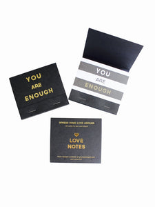 Your Joyologist - You Are Enough Love Notes - Charm City Noir