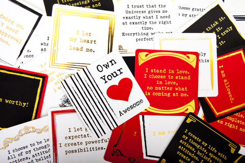 Own Your Awesome Affirmation Deck
