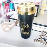 Black Girl Magic Travel Mug - Charm City Noir