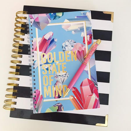 Golden Life Notebook - Charm City Noir