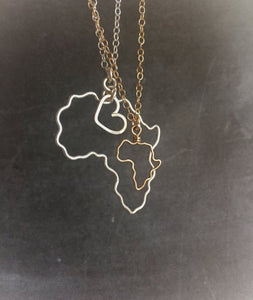 Standard Africa Necklace