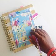 Effie's Paper :: Stationery&Whatnot - Golden State of Mind Spiral Notebook - Charm City Noir