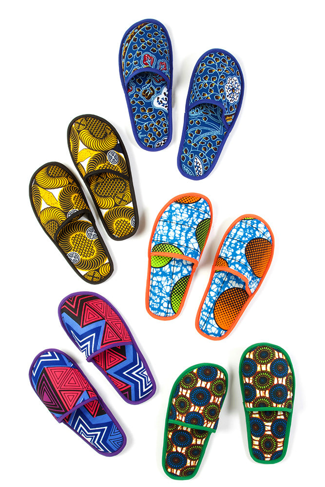 Ankara House Slippers (NEW!)