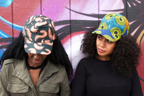 Ankara Caps (Best Seller!) - Charm City Noir