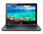 Acer Chromebook 11, C740-C4PE, Intel Celeron 3205U / 1.5 GHz Dual-core, Chrome OS 4 GB Ram 16 GB Flash, 11.6 inch, Intel HD Graphics, 802.11a/b/g/n/ac, Spill Resistant Keyboard