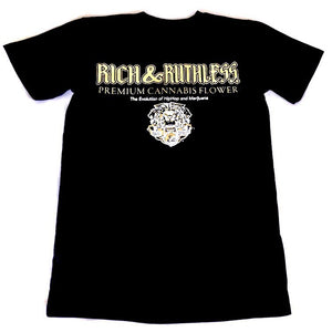 Rich & Ruthless PCF Tshirt (Black)