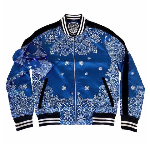 LIMITED EDITION - Rich & Ruthless Paisley Bundle (Blue)