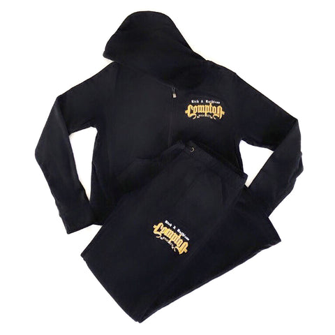 Rich & Ruthless Compton Women's Snug Fit Tracksuit (Black)