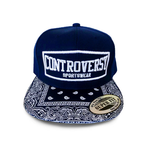 Controversy Sportswear Hat (Navy Paisley)