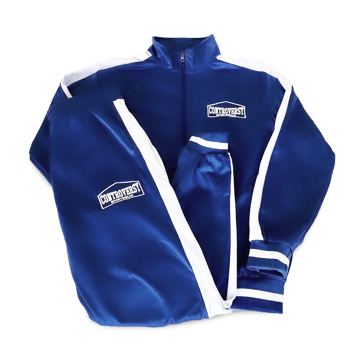 Controversy Sportswear Tracksuit (Blue)