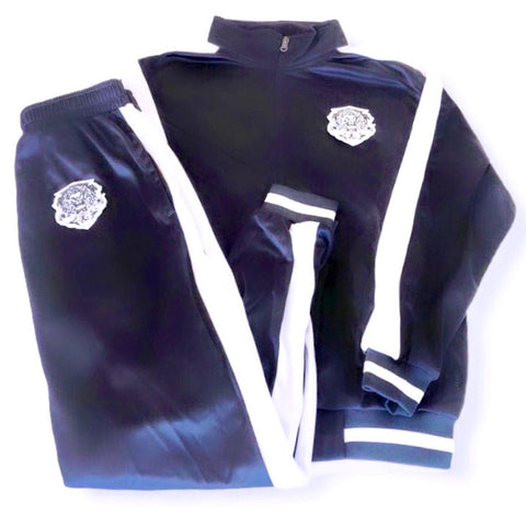 Rich & Ruthless Lioncrest Tracksuit navy